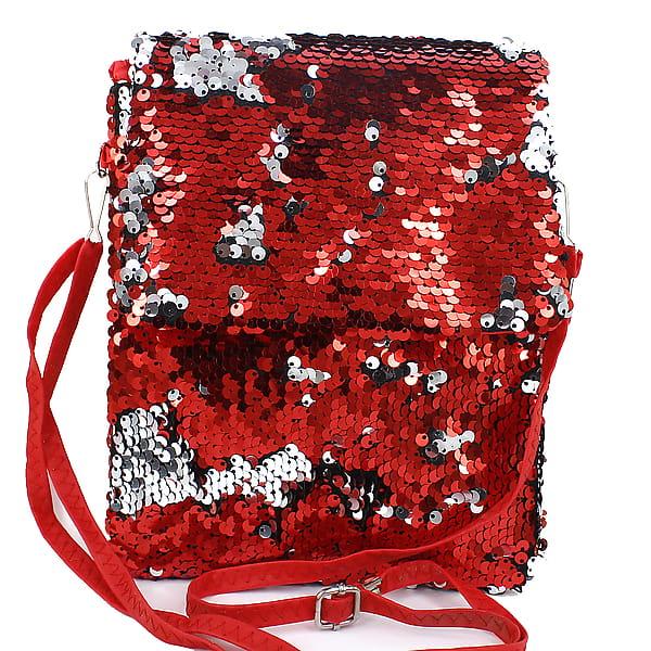 Пайеточная сумочка