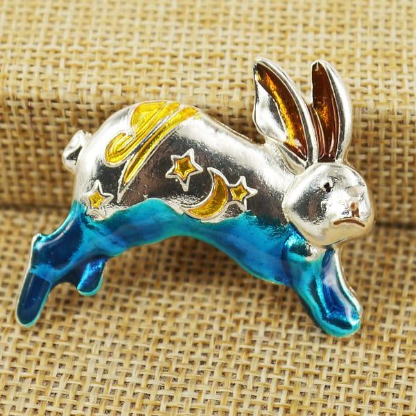 Мини брошка «Кролик»