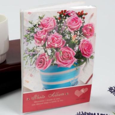 Фотоальбом на 36 фото 10х15 см «Букет цветов», микс