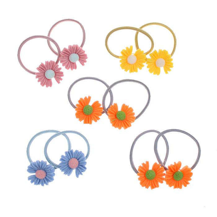 Набор резинок «Цветочная полянка» 10 шт