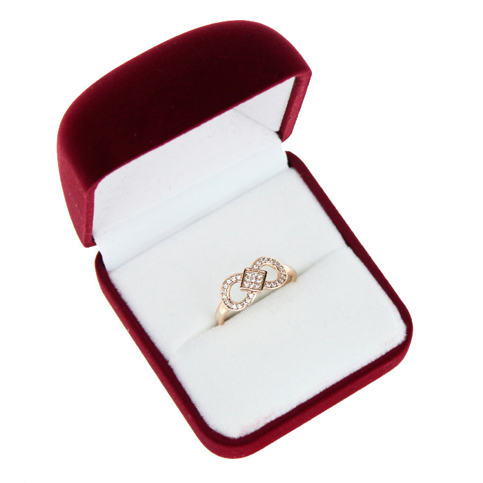 Подарочная коробочка для кольца/сережек  (бархат)