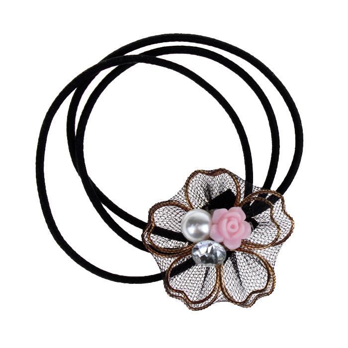 Резинка с декором «Цветок»