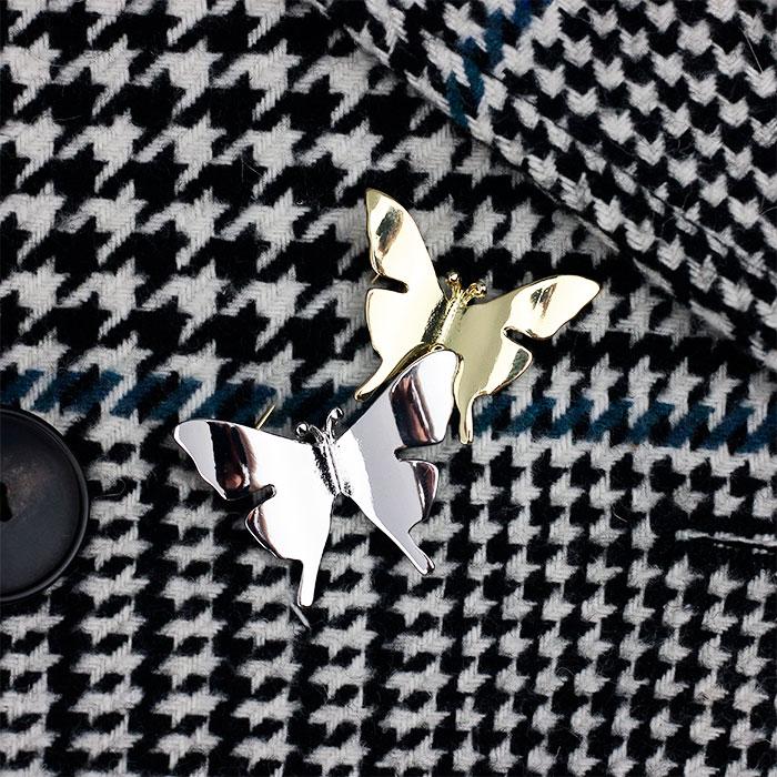 Брошь «Бабочки»